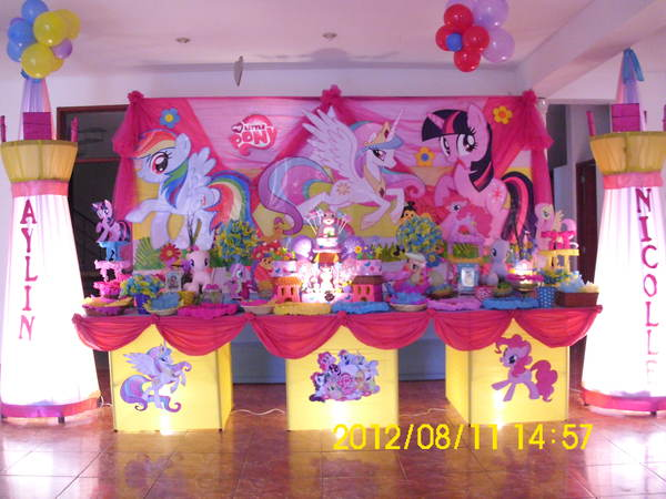 Decoraciones Para Fiestas Infantiles My Little Pony Imagui