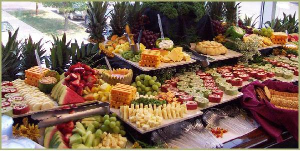Green party- Organic food buffet