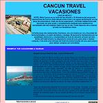 Cancun Travel Vacations