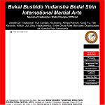 Bukai Bushido Yudansha Bodai Shin International Martial Arts