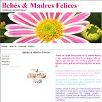 Bebes y madres felices