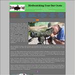Birdwatching Tour Sur Oeste