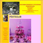 DECORACIONES Y EVENTOS FESTICLUB