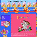 Girl`s and Boy`s Planet