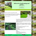 Full service landscaping and garden
