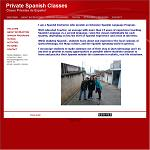 Private spanish classes