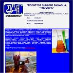 Productos quimicos paniagua