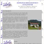 Sistemas Biologicos y Analiticos