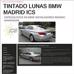 Tintado De Lunas Ics Madrid Bmw