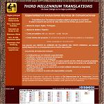 Third millennium translations