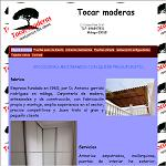 Tocar maderas, carpinter�a