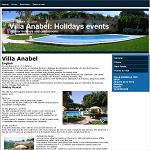 Villa Anabel: Holidays events