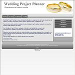 Wedding Project Planner