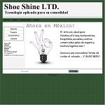 Shoe Shine Machine LTD