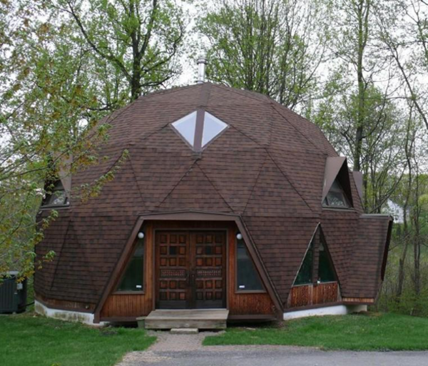 Domos geod sicos for Geodesic home plans